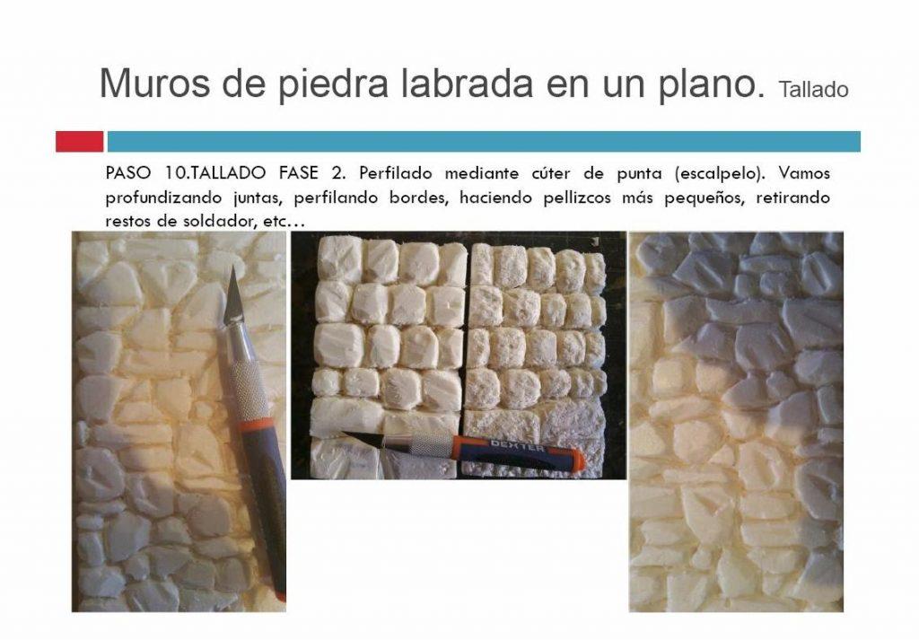 Planificación y texturas de un Belén
