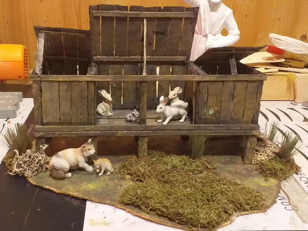 Cajón para conejos