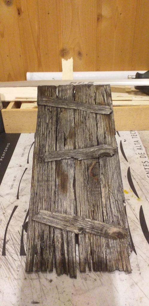 Puerta de madera 2020